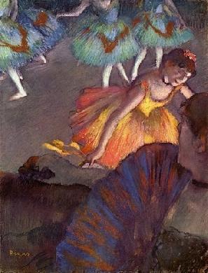 Ballet seen from a loge