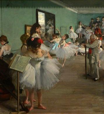 The dance class1